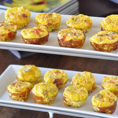 Bacon, Egg, and Potato Frittatas http://www.nutritiouseats.com/brunch-food-bacon-and-potato-egg-frittatas/