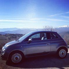 #Fiat500 #sunshine #day