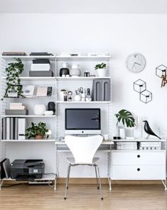 Awesome workspace bedroom ideas (15)
