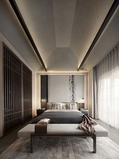 Enhance Your Senses With Luxury Home Decor Interior Modern, Luxury Interior Design, Residential Interior Design, Hotel Inspired Bedroom, Minimal Bedroom, Master Bedroom Interior, Bedroom Office, Hotel Room Design, Home Design