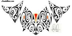 Resultat d'imatges de dibujos tatuajes tribales angeles