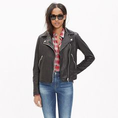 I like moto jackets...this one might be a bit edgy for me but maybe a softer version of this?