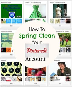 How To Spring Clean Your Pinterest Account  #Pinterest