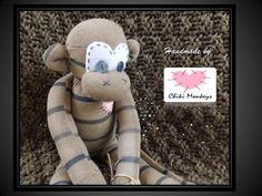 Chandler The original 100% hand stitched handmade by ChikiMonkeys