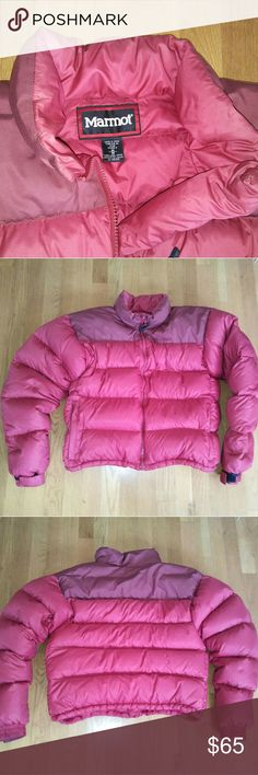 Marmot SzM Down fill Puffer 2 tone jacket Nice used  shape womans jacket . Super warm goose down feather fill. All zippers work great maroon with a purplish color . Nike Boost 80s 90s  Calvin Klein Patagonia Adidas Vans Chloe Mac  Vintage items lv  Gucci urban givenchy Ysl vuitton Goyard Dior  Ck polo levis  Pink Victoria's Secret Ralph Lauren Converse Vintage Celine Marmot Jackets & Coats Puffers
