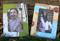 custom designed photo frames, more information on my etsy shop or facebook page, check out TW Creative Designs ~