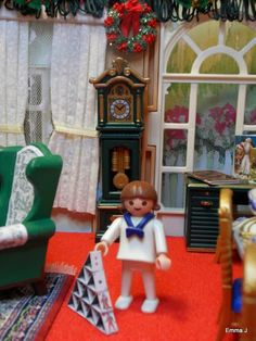 Playmobil By Emma.J Victorian Christmas Living Room