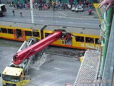 Weirdest train accidents