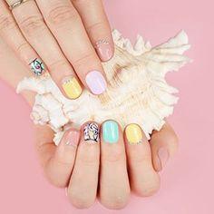 Pastelowe kolory nadal królują na naszych paznokciach. #beautifulnails #nails💅 #beauty #women