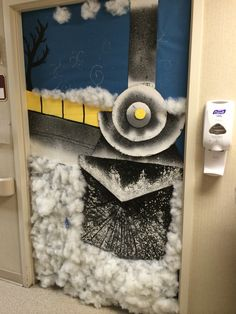 The Polar Express Classroom Door Education Pinterest