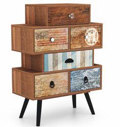small furniture Kleinmöbel Chest of drawers AvitiaWayfair. 21st Decorations, Hallway Cabinet, Design Loft, Set Of Drawers, 6 Drawer Chest, Small Loft, Scandinavian Furniture, Kare Design, Small Furniture