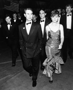Prince Edward, Earl of Wessex, attending the Berkeley Square Ball with his date, London, July (Photo by Dave Hogan/Getty Images) via Royal Family History, British Family, Prince Edward, Prince Philip, Louise Mountbatten, Viscount Severn, Young Prince, Royal House, Queen Elizabeth Ii