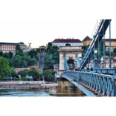 Chain Bridge. Danube River. Budapest Hungary is such a beautiful place, no wonder why it is included as one of the top ten cities to visit in Europe. It was amazing how I got to see such wonderful panoramic views and I will definitely recommend to visit the city!