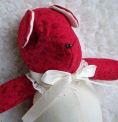 Josephina The Little Teddy Bear by ellemardesigns on Etsy, $10.00