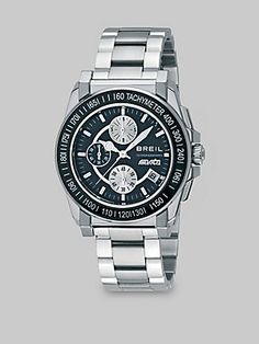 Breil Manta Stainless Steel Chronograph Watch the only thing i can say is Wow