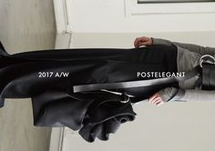 POSTELEGANT 2017A/W LOOKBOOK EDITORIAL COVER