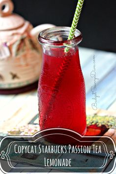 Copy Cat - Starbucks Passion Tea Lemonade