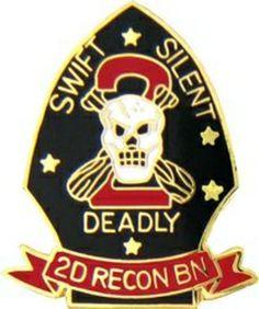 US Marine Corps Recon Battalion Hat or Lapel Pin Marine Recon, Us Marine Corps, Purple Heart Medal, Military Terms, Ww2 History, Us Marines, Vietnam Veterans, Usmc, Lapel Pins