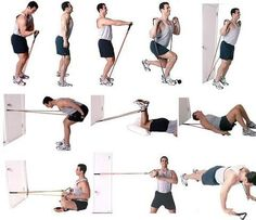 492 Best Resistance Band Exercises Images In 2020 Resistance