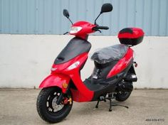 """BEST SCOOTERS/MOPEDS UNDER $1000- """"Renegade TPGS-805 Gas 49cc Moped"""" (Click for Top 5 list!)"""