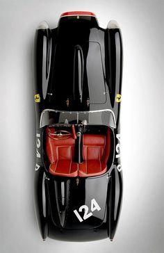 Classic Car: 1958 Ferrari Testarossa