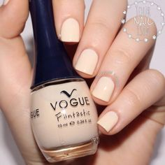 """""""Another for today! This is in """"Sueño Rosa"""". Three coats, no top coat. Also, this gorgeous cream-ish base is for tomorrow's special…"""" Nail Art Galleries, Top Coat, You Nailed It, Swatch, Nail Polish, Vogue, Make Up, Base, Coats"""