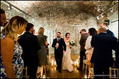 Married, in The Vaults at the fabulous RSA House in London -