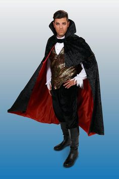 Black Gothic Vampire Male Adult Plus Costume Plus Halloween Costumes, Gothic Vampire, Touch, Black, Women, Fashion, Moda, Black People, Fashion Styles