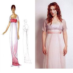"Titanic, Rose's ""swimming dress"". Design by Deborah Lynn Scott"