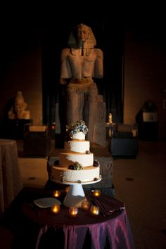 Ramses III always looks good with cake.  http://www.penn.museum/rent-the-penn-museum/chinese-rotunda.html