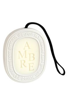 diptyque 'Ambre' Scented Oval available at #Nordstrom