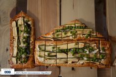 Tartă cu feta, zucchini, spanac și mazăre / Feta cheese, zucchini, spinach and peas tart ..............................................  made by Flori de Mentă for our office party