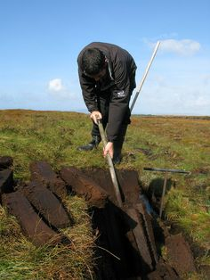 The peat is cut by hand using specialised tools and the resulting 'sod' is then left to dry in the open air for approximately two-three weeks. After this time, the peat is collected and then taken to the distillery.