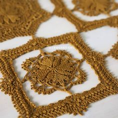 """New pattern - Mashuga doily - is now available in my store 💛"""