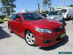 2009 Toyota Camry ACV40R Sportivo Red Automatic 5sp A Sedan #toyota #camry #forsale #australia