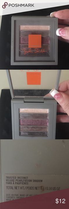 """MAC exclusive eyeshadow MAC Brooke shield exclusive eyeshadow palette in """"trusted instinct"""" MAC Cosmetics Makeup Eyeshadow"""