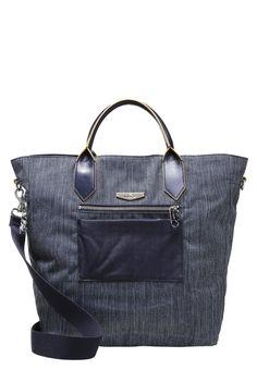 Kipling YANNIK Torba na zakupy city denim 411.75zł #moda #fashion #women #kobieta #kipling #yannik #torba #na #zakupy #city #dream #niebieski #jeans #damska