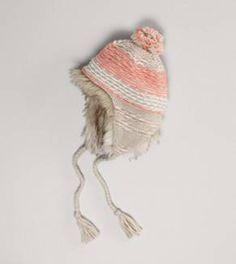 AEO Peach Winter Hat