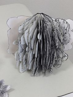 photo(25) by girlie jones, via Flickr Paper Art, Walls, Sculpture, Blanket, Wall Art, Style, Swag, Papercraft, Sculptures