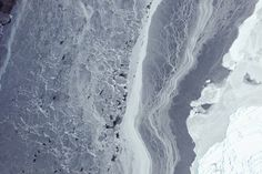 October 16, 2009 image of Antarctic sea ice captured by the Operation IceBridge airborne campaign.