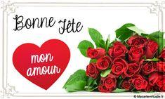 Carte Virtuelle Bonne Fête mon Amour