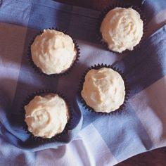 Gluten Free Carrot Cupcakes with Orange Cream Cheese Frosting   Wonderland Eats