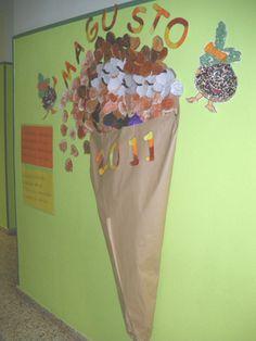 La clase de Sara: Manualidades Otoño (Recopilación) Halloween, Fall Pictures, Craft Tutorials, Arts And Crafts, Autumn, Fall Boards, Autumn Activities, Senior Citizen Activities, Sint Maarten