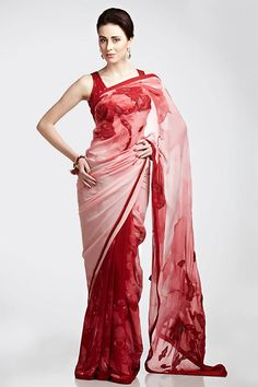 New Best Girls: Satya Paul Printed Sarees Chiffon Printed Sarees Chiffon Saree, Saree Dress, Satin Saree, Corset Dresses, Pink Saree, Cotton Saree, Saree Blouse, Prom Dresses, Wedding Dresses