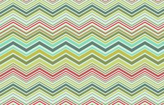 zig zag spa fabric on Spoonflower