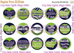 25% OFF Seattle Seahawks INSPIRED INSTANT by DigitalImageMania