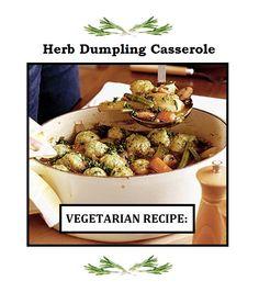 Vegetarian Diabetic Recipes, Dumpling, Potato Salad, Casserole, Corner, Herbs, Cooking, Ethnic Recipes, Food