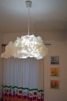 18. #Cloud Lampshade - 33 Ikea #Hacks Anyone Can do ... → DIY #Products