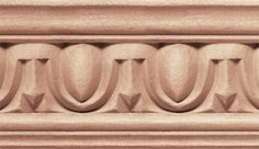 An egg and dart molding is a series of dart and egg shaped moldings used for decoration just as the name entails.