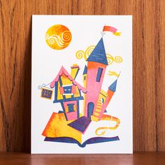 Eszter Clark for Oakland Illustrated: A letterpress collaboration by The Weekend Press.
